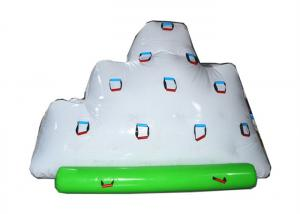 China Durable Inflatable Water Park / Climbing Inflatable Floating Tower on sale