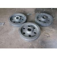 42CrMo4 Outside Diameter 680mm Wear-resistant Stacker Travelling Wheel Free Air Bubbles HRC40-45