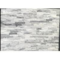 China Cloudy Grey Cultured Marble Shower Walls Low Water Absorption Natural Pretty Color on sale