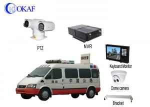 China Vehicle Security Vehicle PTZ Camera System Anti - Shake Full HD 1080P Forensic System on sale