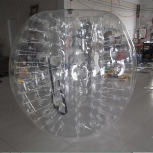 China Transparent Inflatable Bumper Ball Body Bumper Ball 1.0 mm PVC 1.2 / 1.5 m Diameter on sale