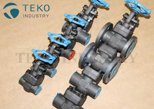 China Full Port Forged Steel Valves , High Pressure Welded Flanged End Bolted Bonnet Gate Valve Class 800 ~ 2500LB on sale