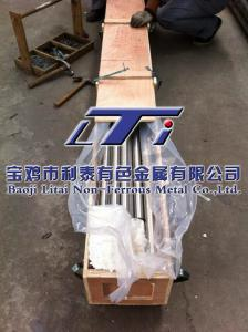 China Gr9 (Ti-3AL-2.5V) Titanium alloy bar TA18  ASTM B348 on sale