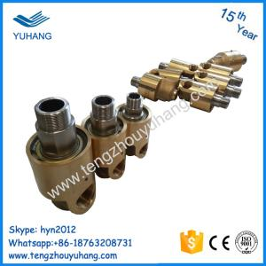 Deublin alternative high speed hydraulic water rotary joint
