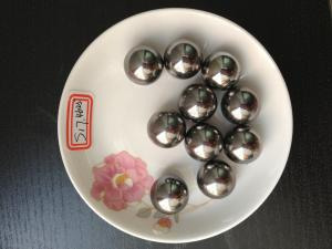 China Corrosion Resistance Solid large stainless steel balls For Sport Fitness Equipment on sale