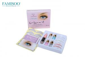 China Permanent Makeup Wave Curling Eyelash Perm Kit With Silicone Lash Rods on sale