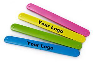 China Fashion Design Silicone Slap Bracelets , Slap Wrist Bracelet Easy To Clean on sale