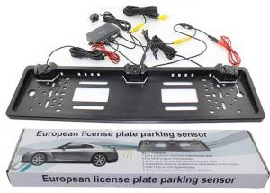 China 1.5W Number Power Plate Reverse Parking Sensor System , Parking Assist System Kit BIBI Alarm Type on sale