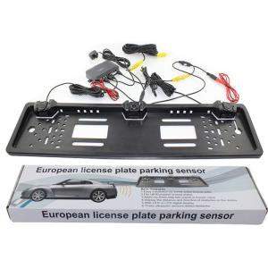 China 1.5W Number Power Plate Reverse Parking Sensor System , Parking Assist System Kit BIBI Alarm Type on sale