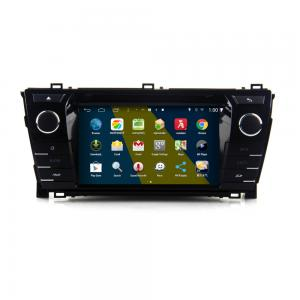 China 7 2DIN HD android car dvd android 4.4.4 HD 1024*600 car DVD GPS for Toyota Corolla 2014 with WiFi Mirror link on sale