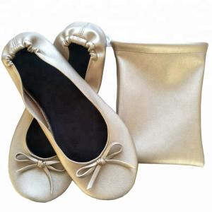 China Famous Female Star Like PU Material Most Comfortable Ballet Flats for Walking on sale