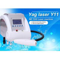 Y11 - Portble 1064 / 532 / 1320nm Q Switch ND YAG Laser Tattoo Removal Machine