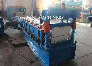 China Roofing Sheet Standing Seam Roll Forming Machine High Speed 8-12m/min on sale