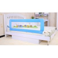 Blue Portable Kids Bed Guard Rail For Queen Bed , Metal Bed Rails 150cm