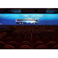 High Definition Advertisement P4.8 Led Stage Background Curtain 1100 Nit Brightness
