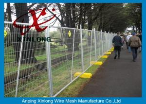 China Free Standing Temporary Fencing Panels For Building Site Simple Design on sale