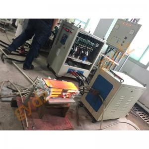 China 100KW 380V 1~20KHZ Medium Frequency Induction Heating Machine For Flatter Hammer on sale