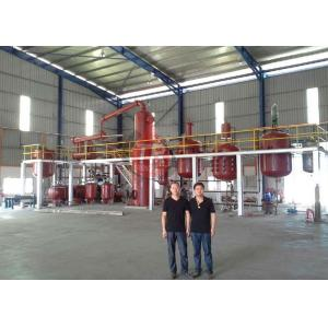 China Fractional Distillation Equipment , Used Oil Refining Equipment For All Lube Oil on sale