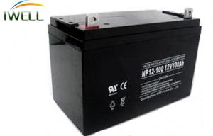 China 12 Volt 100Ah UPS Lead Acid Battery Maintenance Free For Medical Equipment on sale