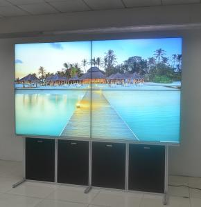 China Multi Input Narrow Bezel LCD Video Wall , 2x2 Video Wall 55 Inch Built In Controller on sale