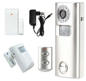 China DIY Easy Use PIR Sensor Home Alarm Security Camera System on sale