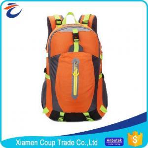 China Adjustable Shoulder Strap Custom Hiking Backpacks / Sports Bag Backpack on sale