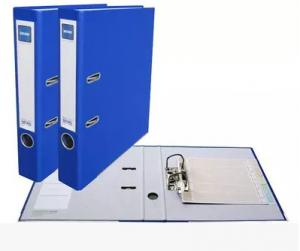China Pretty Lever Arch Files PVC Cardboard File Folders With Double Side Box on sale