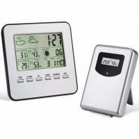 Wireless Weather Station Digital Indoor/Outdoor Thermometer Hygrometer Temperature Humidity Meter Alarm Clock