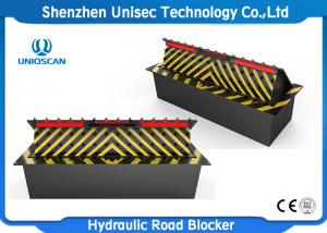 China Heavy Duty Electric Security Hydraulic Road Blocker For Police Station on sale