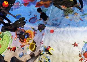 China 220V Virtual Reality Simulator Magic Sand Pond Beach World Game Machines on sale