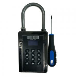 China Dust Proof E GPS Location Lock / Web And APP Tracking GPS Tracker Lock on sale