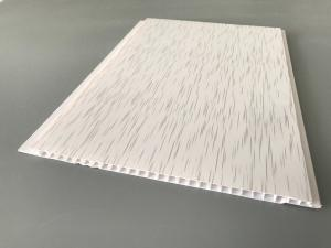 China Eco Friendly Upvc Bathroom Ceiling Panels , Lightweight Ceiling Panels 5950mm Length on sale