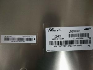 China 5.0V Supply Hard Coating 3d LCD Screen , LTM270HU02 27Inch Industrial LCD Panel on sale