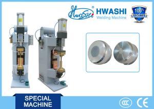 China Pot Base Pneumatic Resistance Spot Welding Machine , Water Cooling Spot Welder on sale