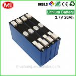 Highly effective Rechargeable Prismatic car jump starter lifepo4 battery for electric car