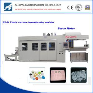 China Plastic Cup Thermoforming Machine High Precision Full Servo Motor Control on sale