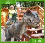 High quality Realistic  Animatronic Walking Dinosaur for Kiddie Rides