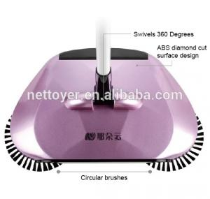 China Recycling Plastic Spin Brush Broom Eco - Friendly Shop Floor Sweeper on sale