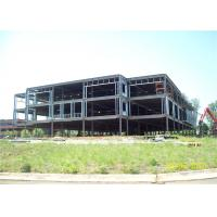 China Professional Design Steel Frame Office Building , Light Steel House Construction on sale