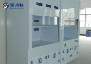China Anti Corrosive AC220V 10A Laboratory Exhaust Hood tempered glass Window on sale