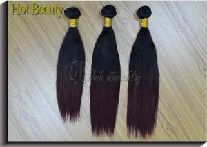 China Brazilian Straight Hair Weave Bundles , 10 Inch 1 Piece Non - remy Human Hair on sale