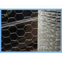 China Galvanized Hexagonal Chicken Wire MeshScreen 0.9 X 30 M Roll Anti Oxidation on sale