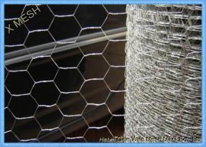 China Galvanized Hexagonal Chicken Wire Mesh Screen 0.9 X 30 M Roll Anti Oxidation on sale