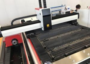 China Aluminum Fiber Laser Tube Cutting Machine With Auto - Focus Cutting Head on sale