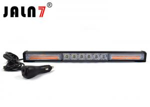 China White And Yellow Vehicle Strobe Light Bar With Switch For Jeep SUV on sale