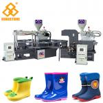 PVC Short Boot Shoe Factory Production Line, Rotary Injection Molding Machine