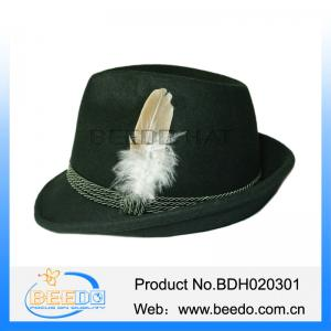 a2adbfeecd3 Green cheap hard felt oktoberfest hat feathers for sale – wool felt ...