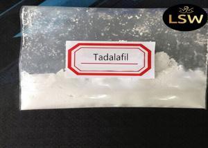 China White Crystalline Raw Tadalafil Powder Steroid Hormone Erectile Dysfunction Treatment CAS 171596-29-5 on sale