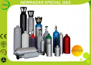 China Electron Air Liquide Specialty Gases , Industrial CO And SF6 Gas Mixtures on sale