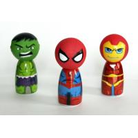 7cm Diameter Rubber Bath Toys Avengers / Sophia Princess Head For Shampoo Bottle Cover
